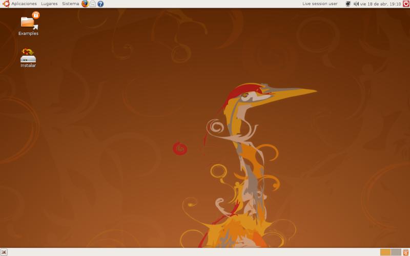 Ubuntu 8.04 Hardy Heron Ubuntu10