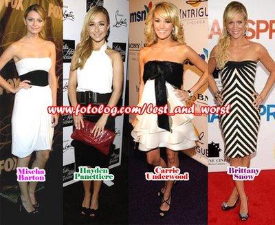 Algunas de las mejor vestidas!! Collag16