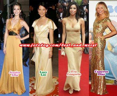 Algunas de las mejor vestidas!! Collag17