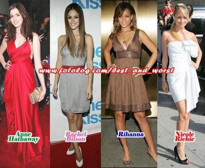 Algunas de las mejor vestidas!! Mejore10