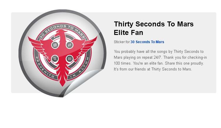 Getglue : gagnez des stickers 30 seconds to mars - Page 5 Mithra10