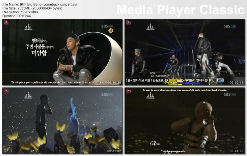 Big Bang - Comeback concert Comeba10