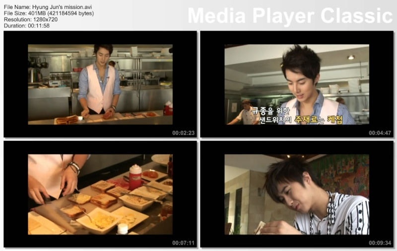 [DVD] Five men's five years - Hyung Jun's mission Hyung_10