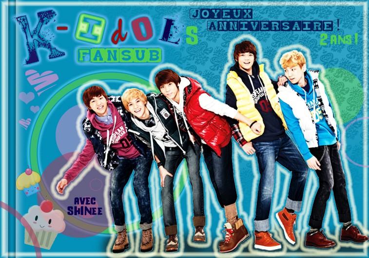 Concour design pour les 2 ans de KIF K-idol10