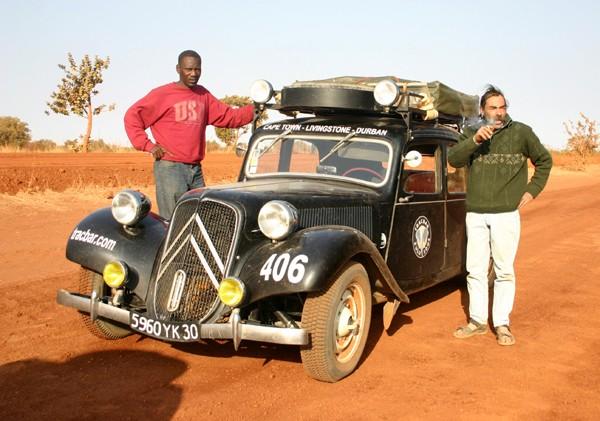 Récit d'un voyage en Afrique à bord d'une 2CV 2006 136_ma10