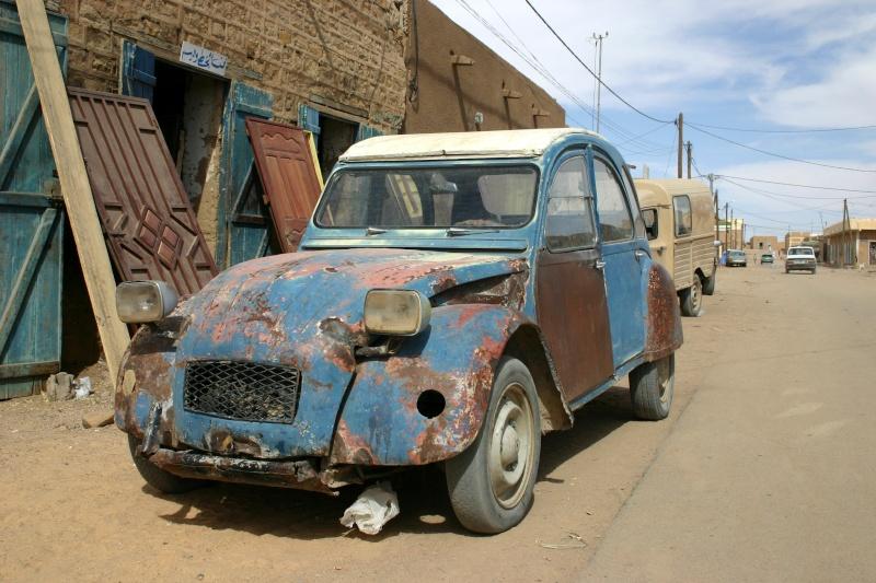 Récit d'un voyage en Afrique à bord d'une 2CV 2006 153_ma11