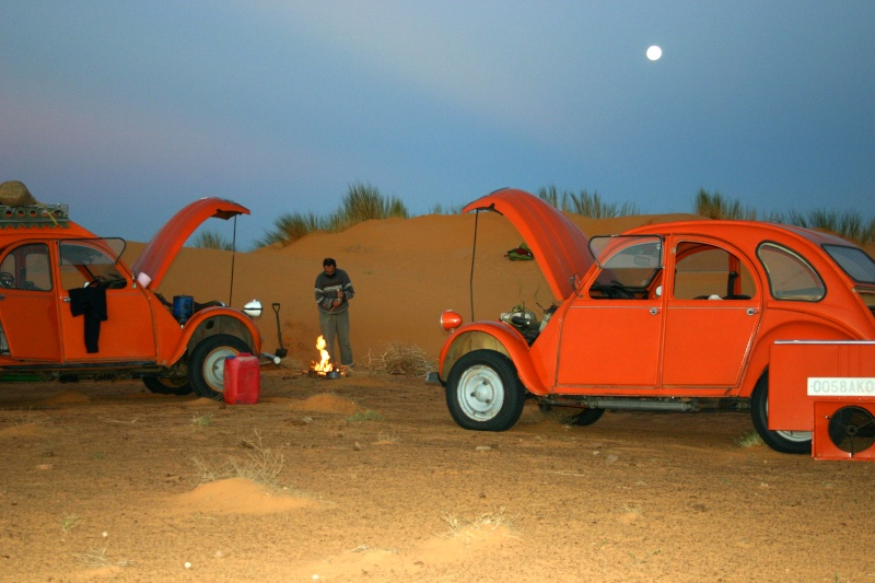 2006 Mauritanie en 4x4 bimoteur 2cv_bi31