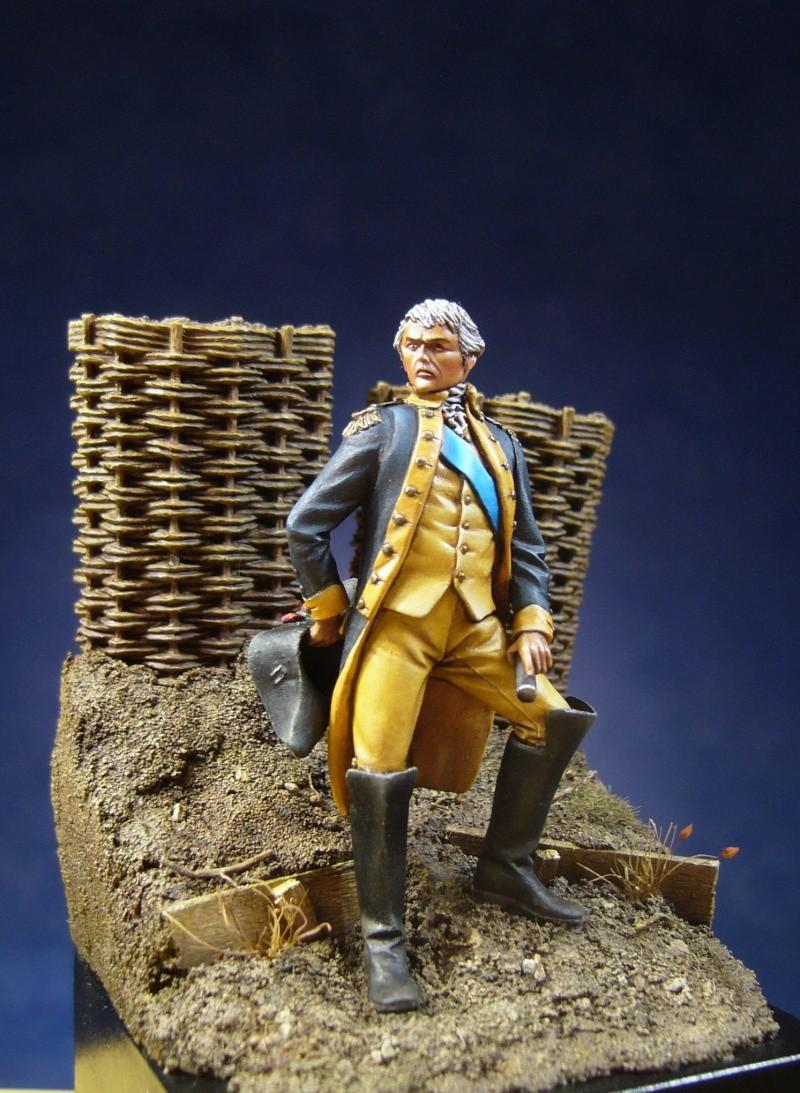 Officier de la guerre d'indépendance d'amérique August16
