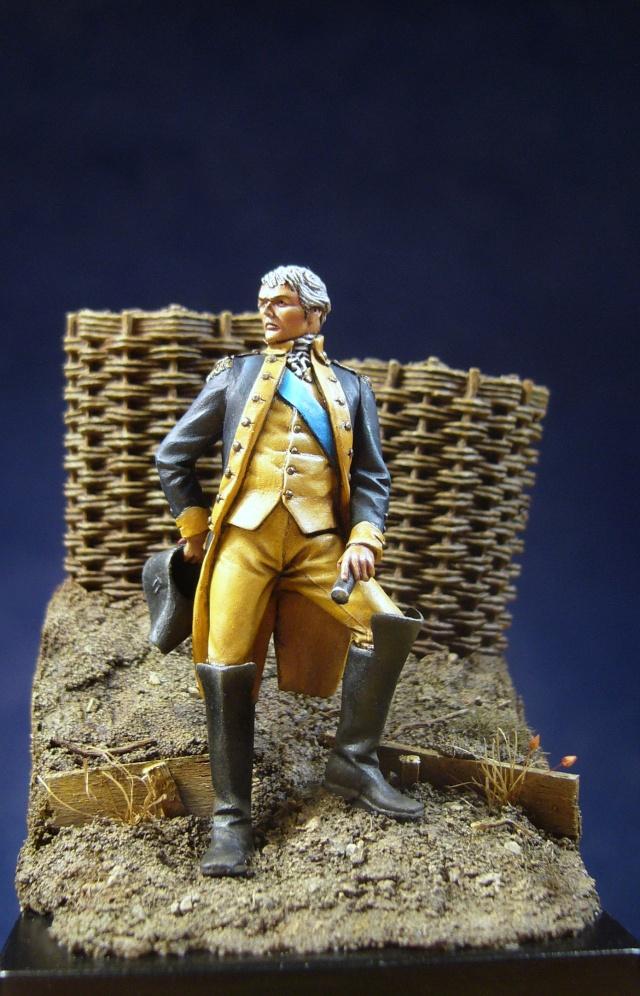 Officier de la guerre d'indépendance d'amérique August17