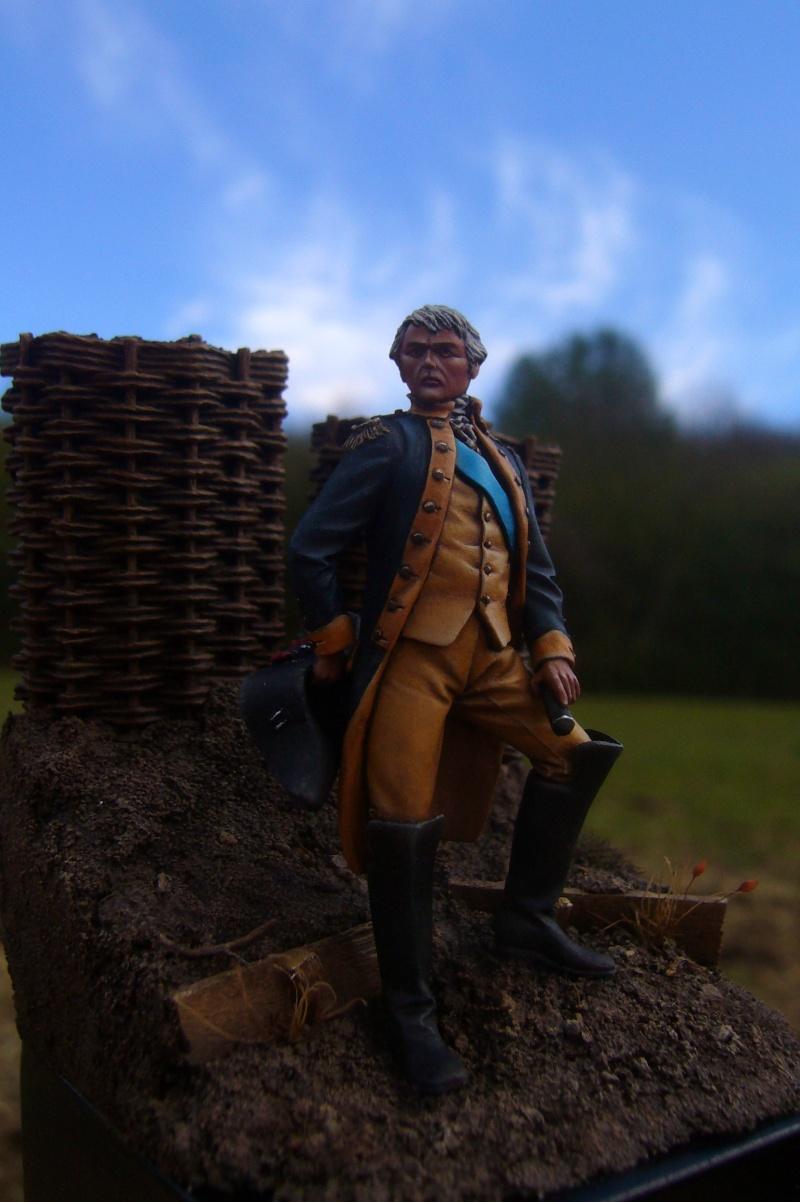 Officier de la guerre d'indépendance d'amérique August18