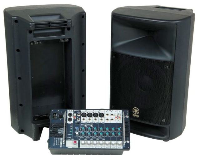 Notre matériel son Yamaha10