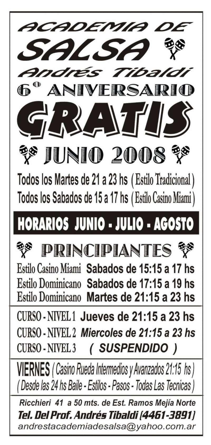Salsa en Ramos Mejia Horari10