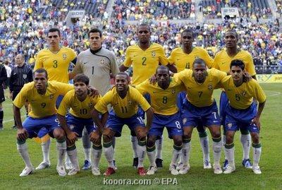 روبينيو يقود البرازيل للفوز على كندا وديا Epa_s205