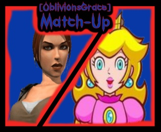 Lara Croft VS Princess Peach Laravs10