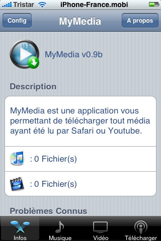 Nouvelle Application MyMedia Snap_113