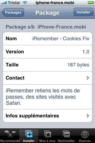 Nouvelle Application iRemember Snap_129