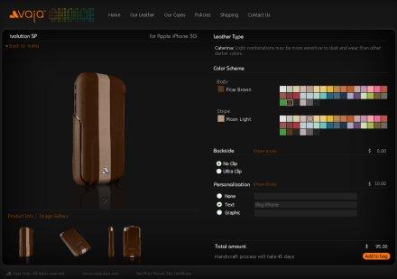 Etuis de luxe pour iPhone3G chez Vaja Vaja-i11