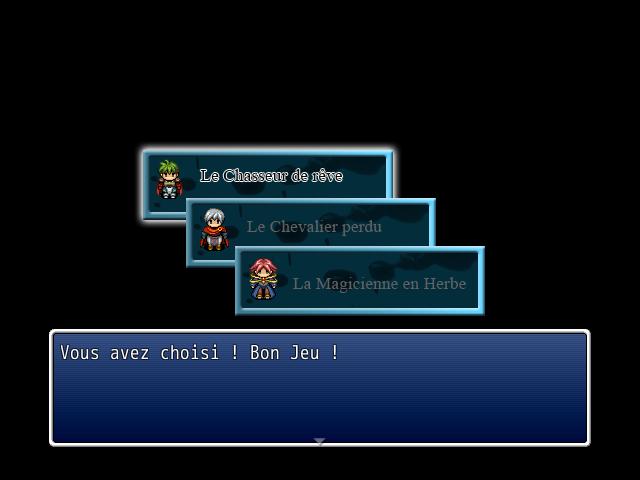 Choix entre 3 Scénario au début du jeu [Event] Sans_t13
