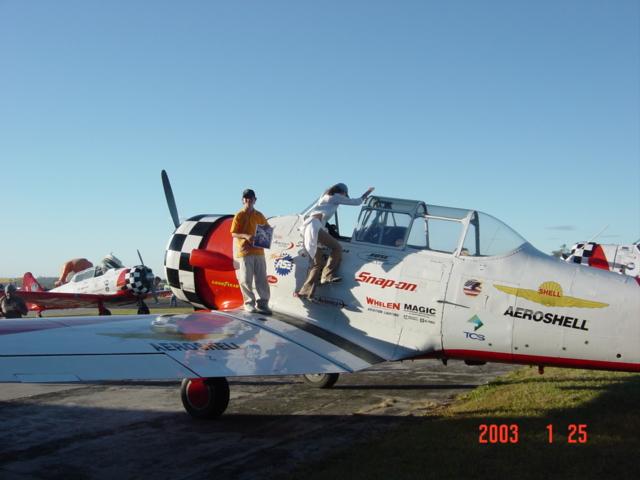 Aeroshow en Ilopango 2003. Dsc00014