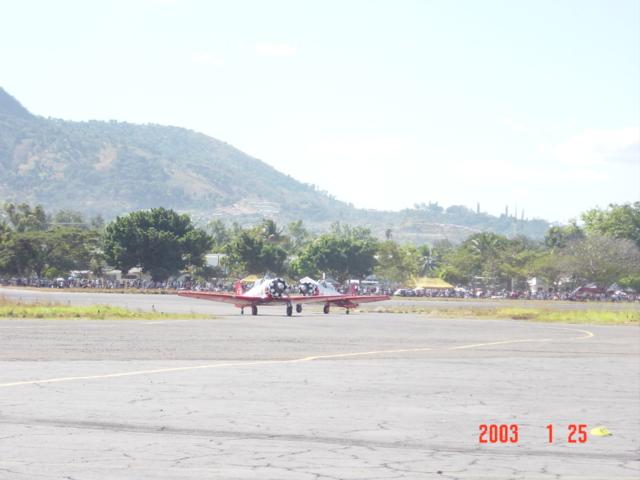 Aeroshow en Ilopango 2003. Dsc00015