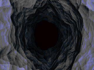 Animation : Passage dans une grotte. Anim2s35