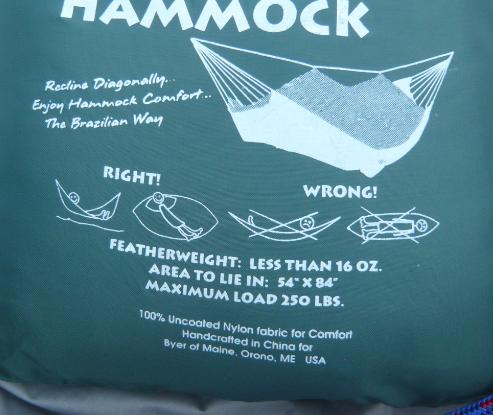 [Revue matériel] Hamac: Moskito Hammock  (Amazonas from Byer) Diago10