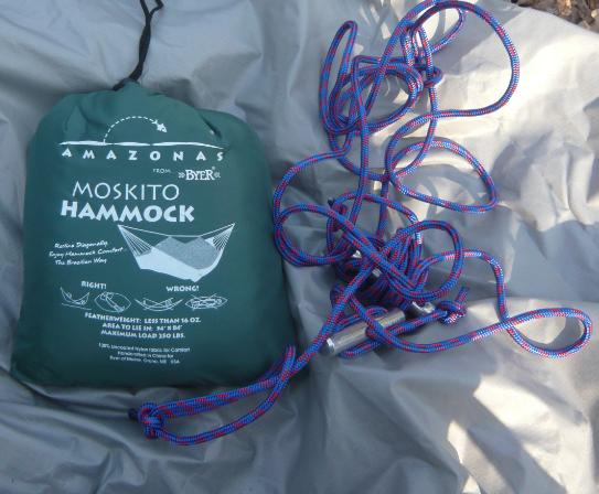 [Revue matériel] Hamac: Moskito Hammock  (Amazonas from Byer) Pack110