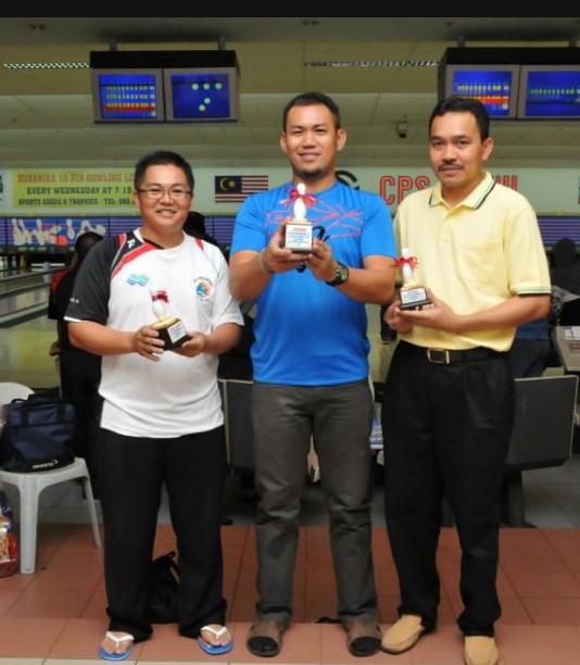 Ahli KSH JPS Kota Belud sudah mula main bowling.....:) B410