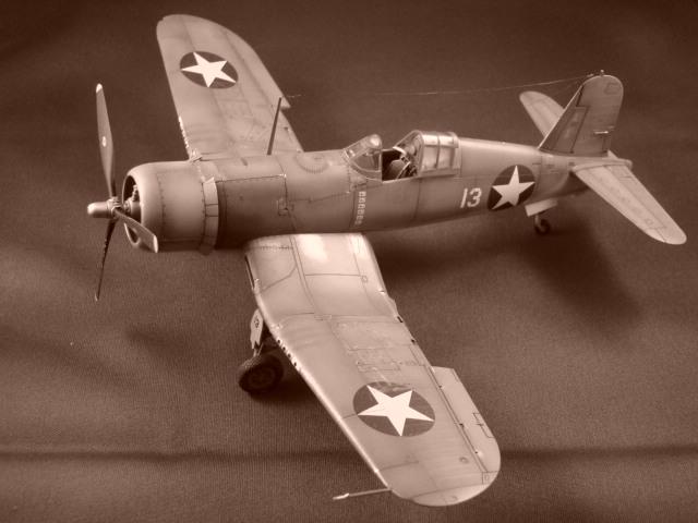 F4U-1 Corsair Ken WALSH, Tamiya 1/48. Dsc07130