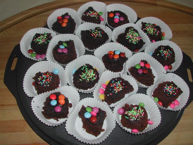 petit brownie décoré Gateau39