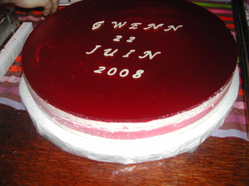 Bavarois fromage blanc Gateau70