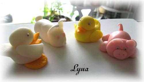 Fondant à la guimauve ou pâte à sucre pour recouvrir ou décorer des gâteaux Pate_s12