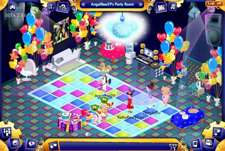 Virtual Disco Party Info and photos! Screen24