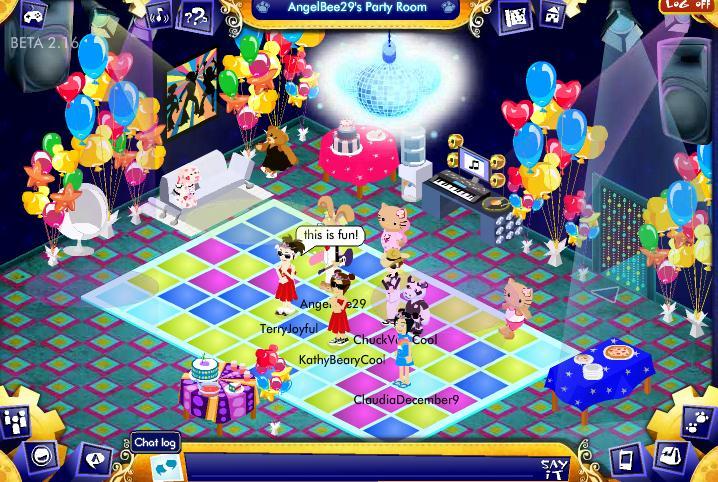 Virtual Disco Party Info and photos! Screen25