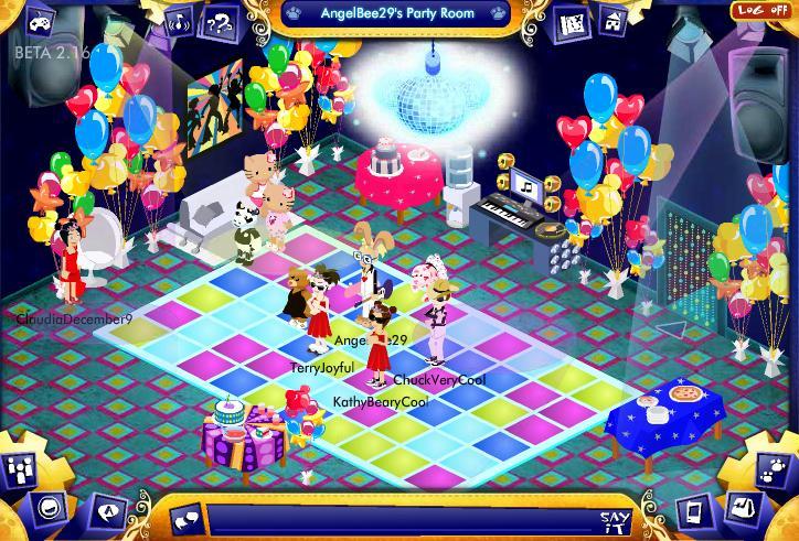 Virtual Disco Party Info and photos! Screen26