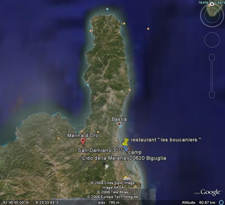 les boucaniers -  la marana - bastia- corse - france Google11