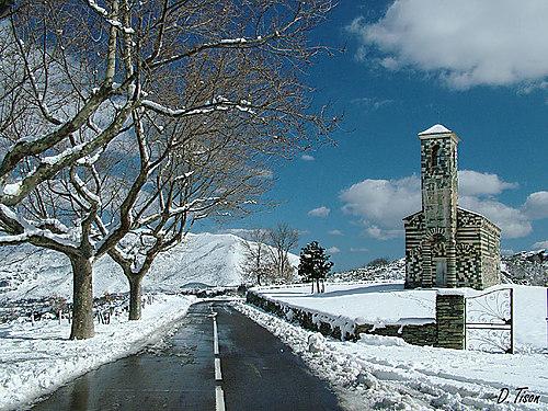 Eglise de Saint-Michel, Murato (Muratu), Haute-Corse, France Murato10