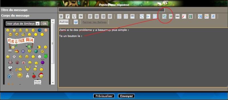 Comment mettre un screen à partir d'un hébergeur d'images sur internet. Screnn10