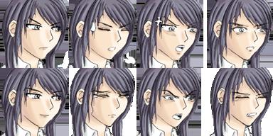Faceset dessiné à la main, style manga Bethee11