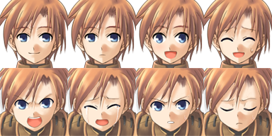 Facesets avec émotions style manga Fighte12