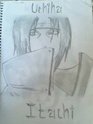 Dibujos por mi Itachi10