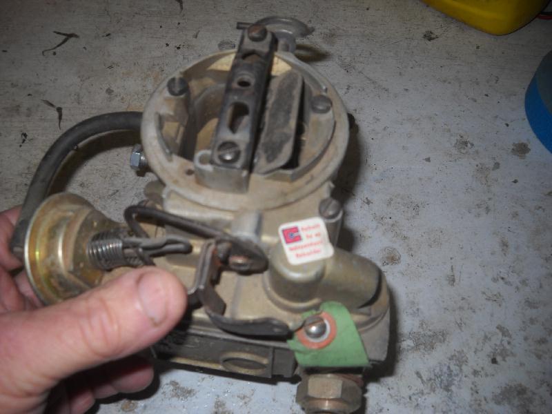 rochester monojet carburetor adjustment