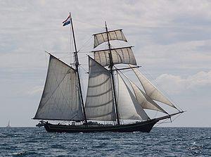 La goélette l'Albatros de 1840 au 1/55  Goalet10