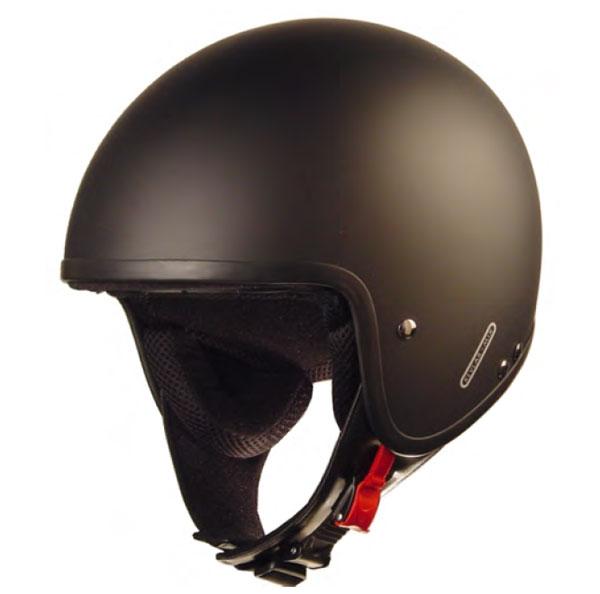 casco aleman negro mate Ign-1410