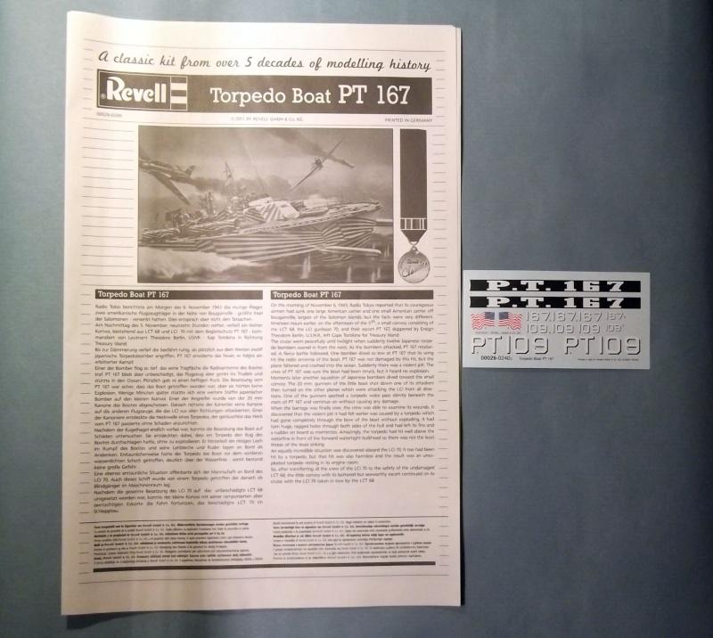 Revell - Torpedo Boat - PT109 - 1/72 Pt_0510