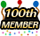 100th member!