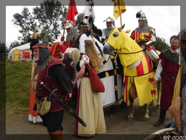 les fetes médiévales de montaner Depart10