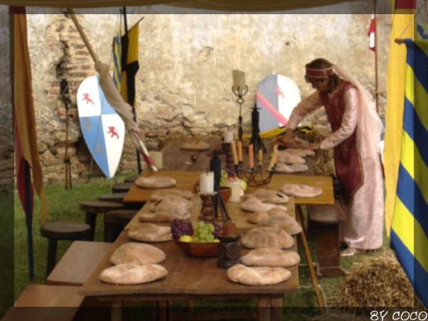 les fetes médiévales de montaner Table_10