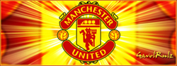 Манчестер Јунајтед банер Manccc10