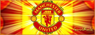 Манчестер Јунајтед банер Manche10